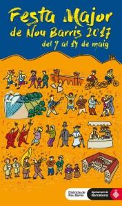 2017- Nou Barris-Festa-cartell