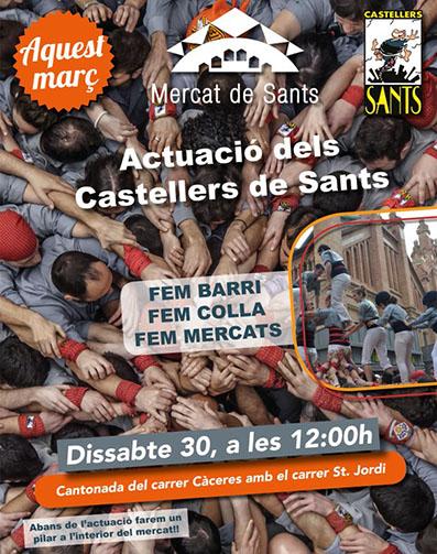 2019-castellers mercat sants